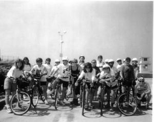 First Women On A Roll Bike Ride August 5, 1995