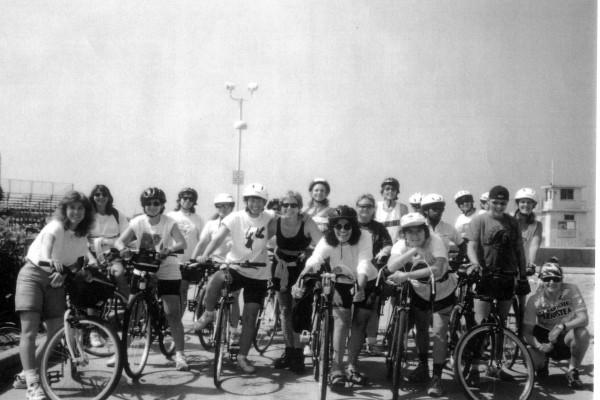 WOAR first bike ride