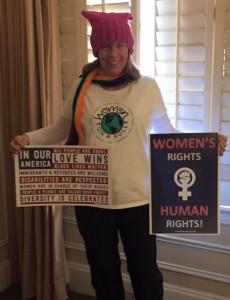 womens march Andrea2