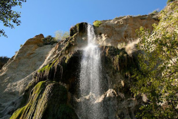 Escondido Falls in Malibu